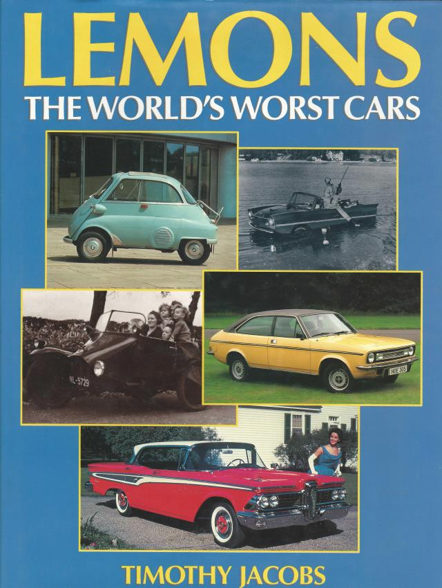 Worlds Worst Cars Book Cover