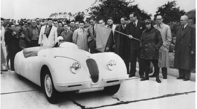 Jabbeke Jaguar Record Run