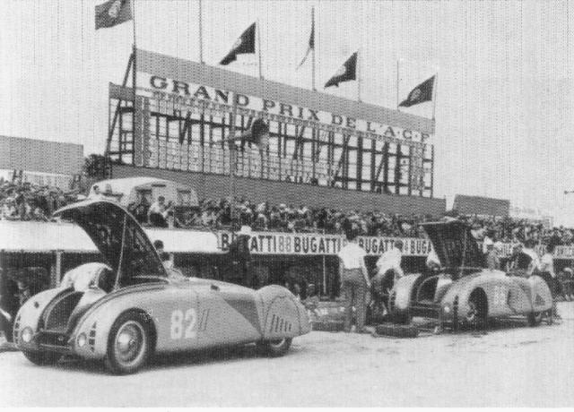 Montlhery Bugatti 1936 GP