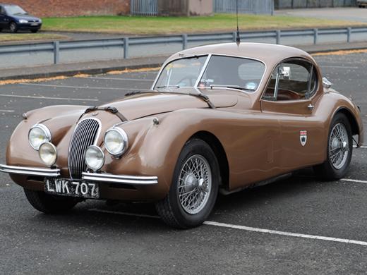 Montlhery Jaguar Drophead Record