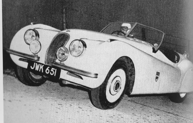 Montlhery Jaguar