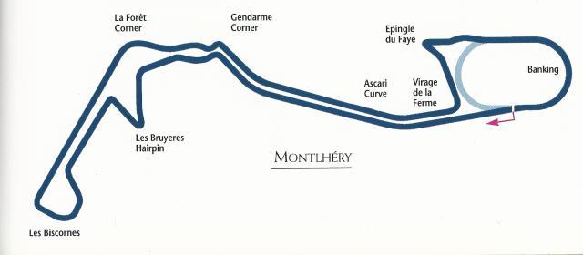 Montlhery Track Layout (2)