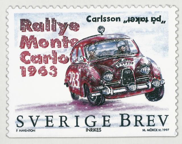 Saab Stamp
