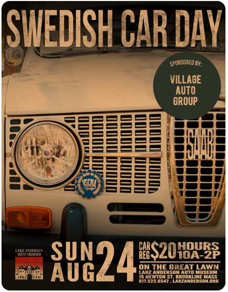 Swedish Car Day Ad