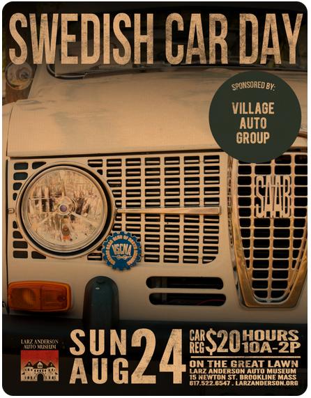 Swedish Car Day Ad