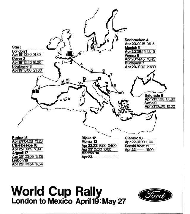 World Cup European Route