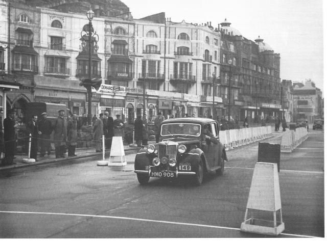 MG At Daily Express 1953