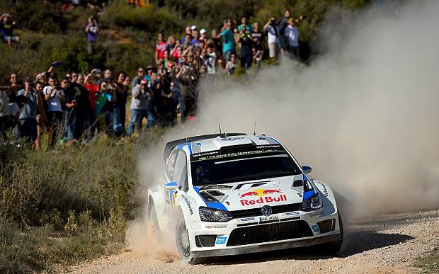 Sebestien Ogier 2014 WRC VW Polo
