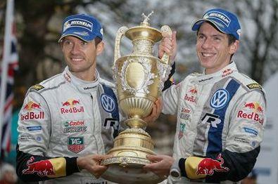Sebestien Ogier Wins 2014 WRC