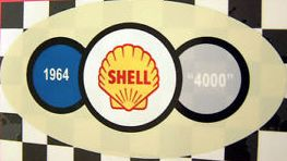 1964 Shell 4000 Sticker