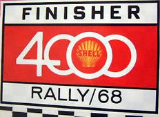 1968 Shell 4000 Sticker