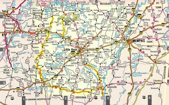 Arkansas Map 1