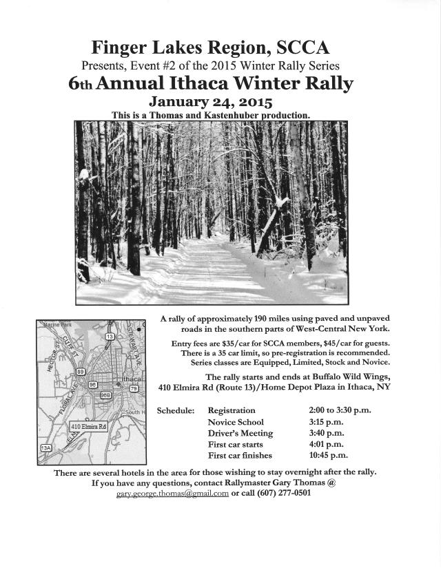 Ithaca Winter Rally Flyer 2015 Revised