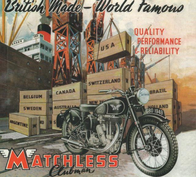 Matchless Advertisement