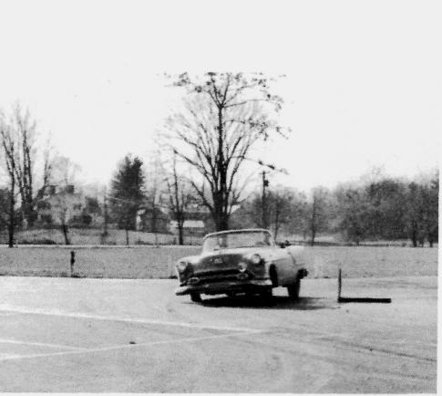 1954 GAMR Winning Oldsmobile
