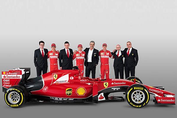 2015 Formula 1 Ferrari