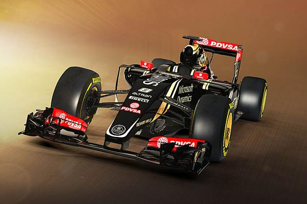 2015 Formula 1 Lotus-Mercedes