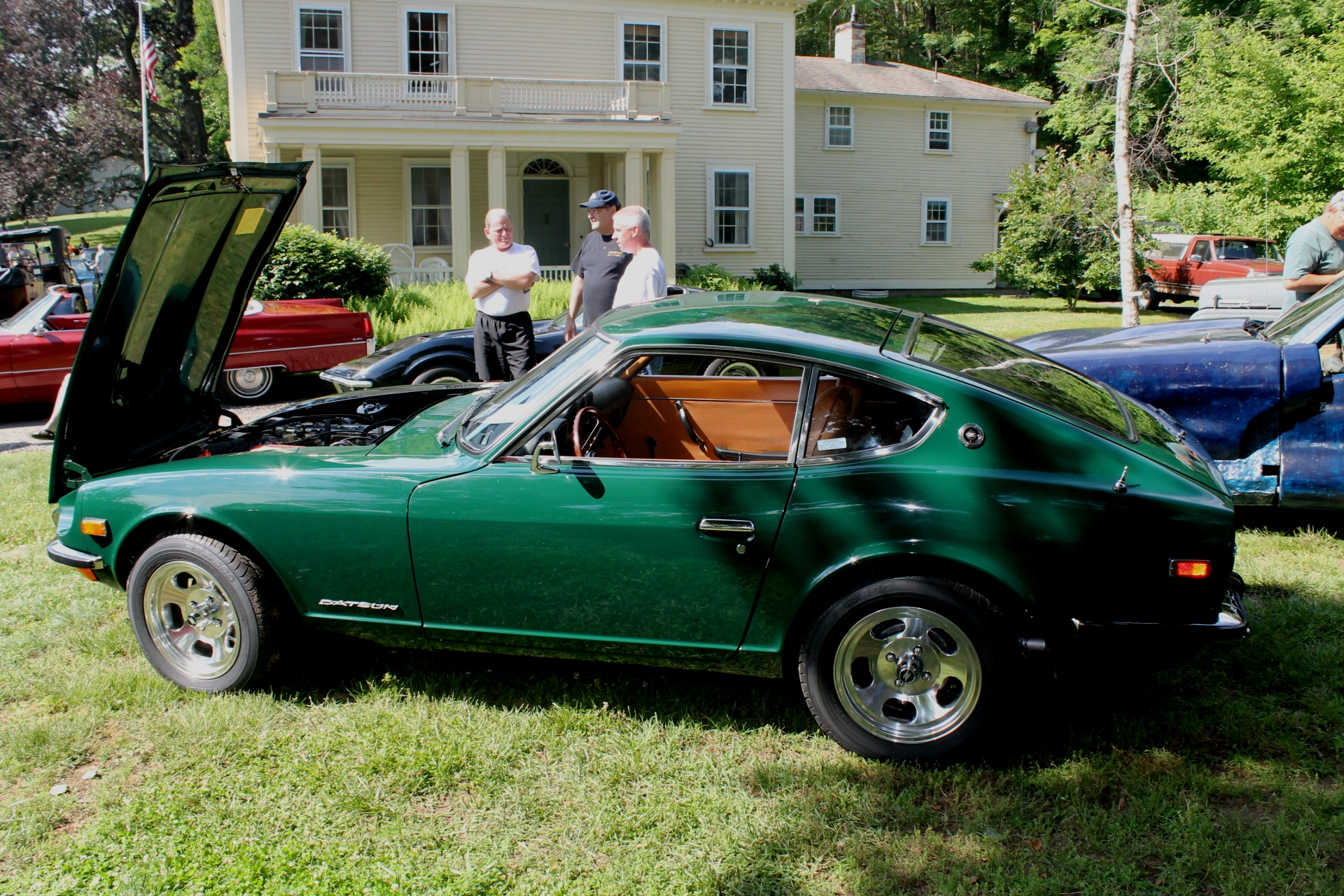 Readying A Datsun 240Z For The 2015 Historique Monte Carlo Rally |