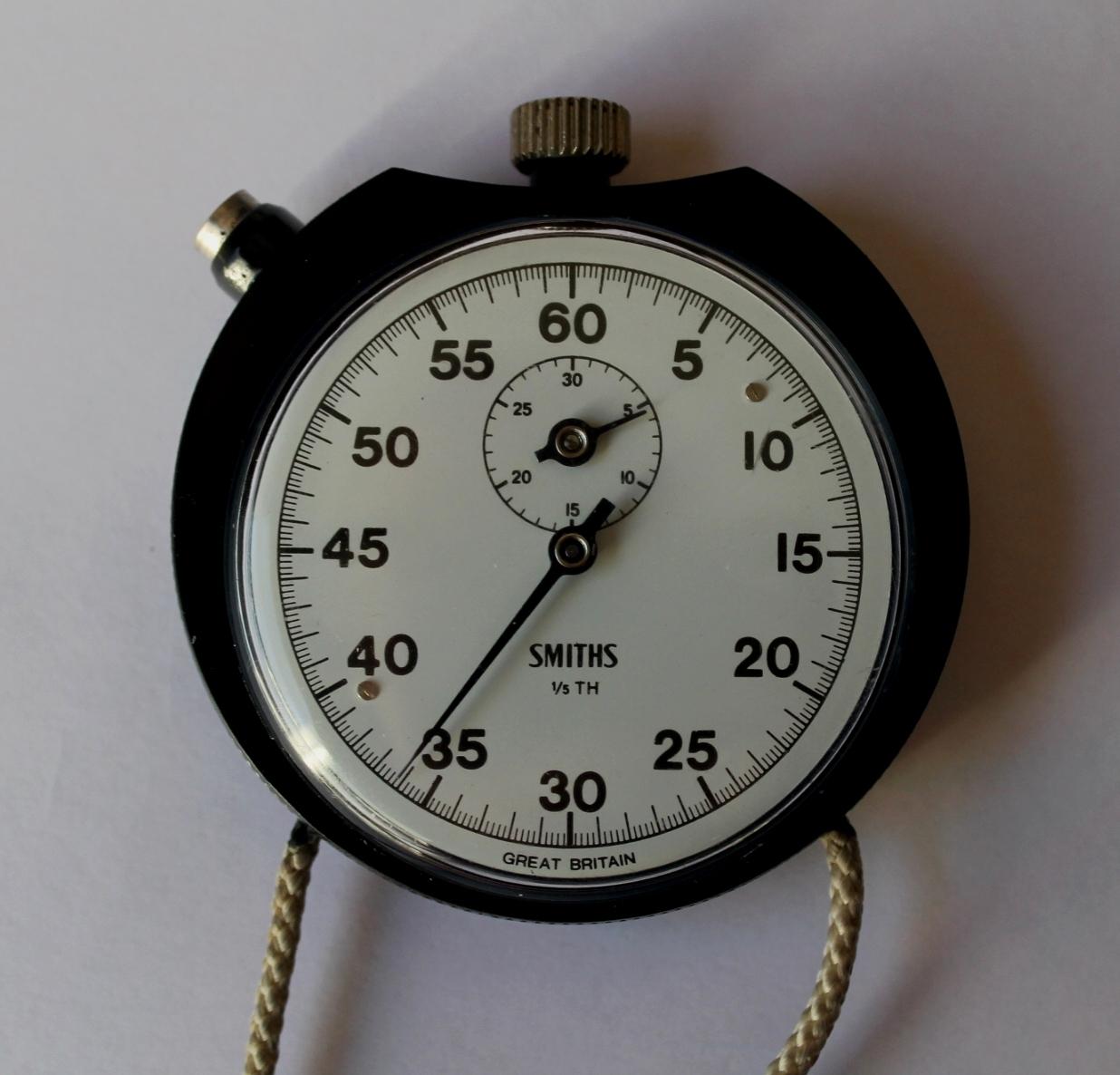 Vintage Wind Up Smiths Stop Clock Stopclock