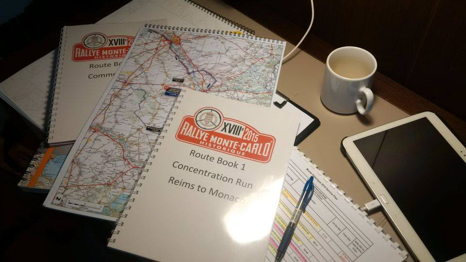 Rally Route Book Their Own Route Books