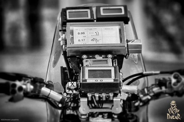 Motorcyclist Navigation Station