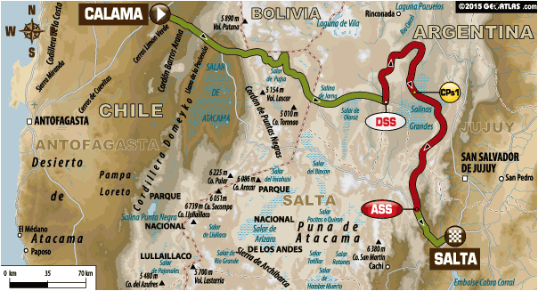 Stage 10 Route