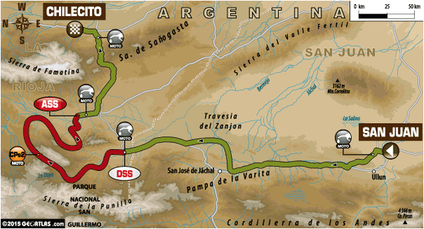 Stage 3 Route