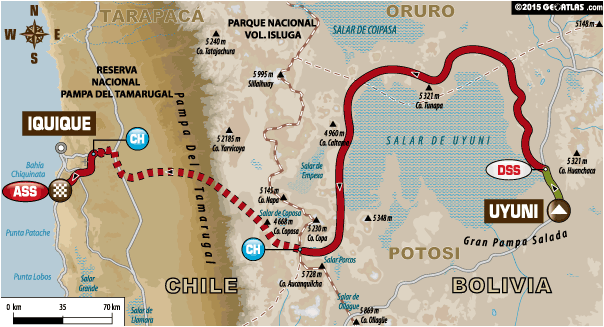 Stage 8 Route