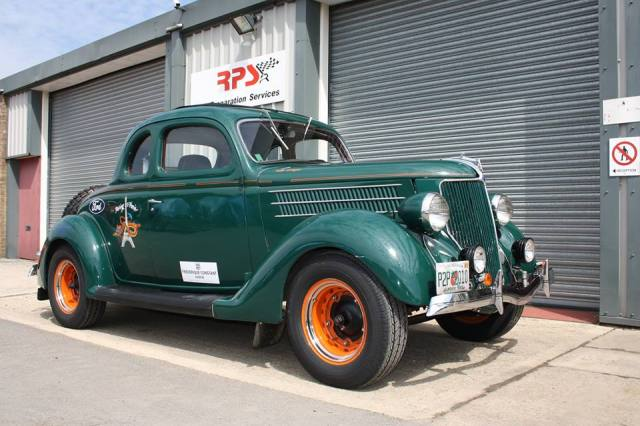 1936 Ford Rally car (2)