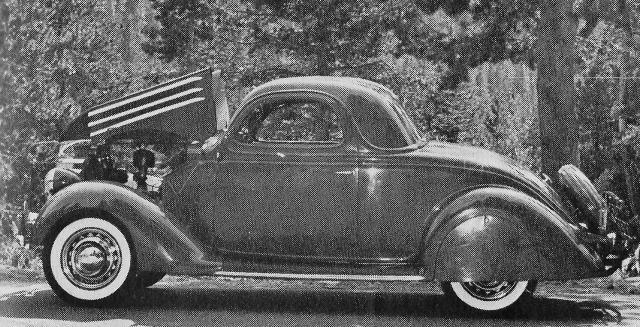 Ford 1936 3 window