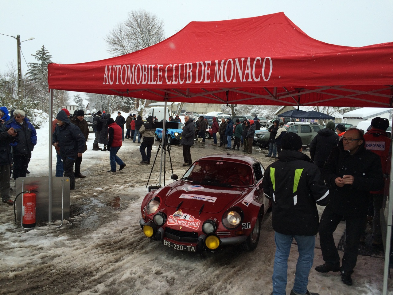 The historique monte carlo rallye gets fully underway with for Garage seat valence