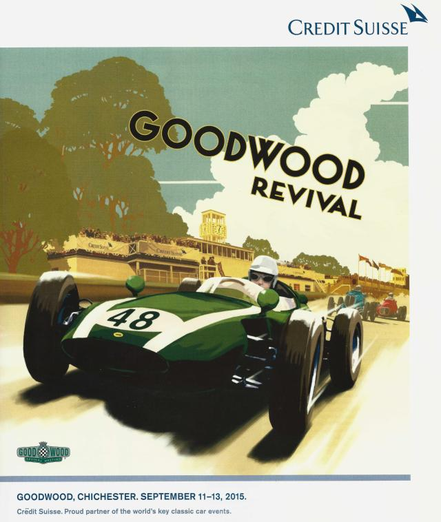 2015 Goodwood Poster