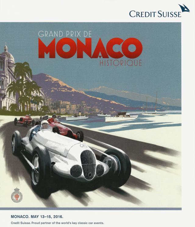 2015 Monaco Historic GP Poster