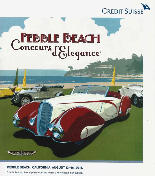 2015 Pebble Beach Poster