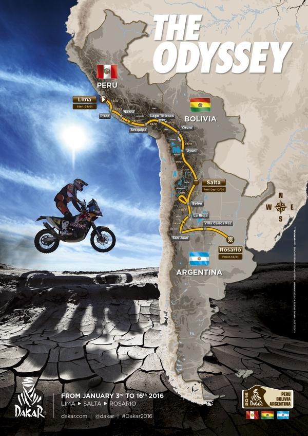Dakar Route 2016