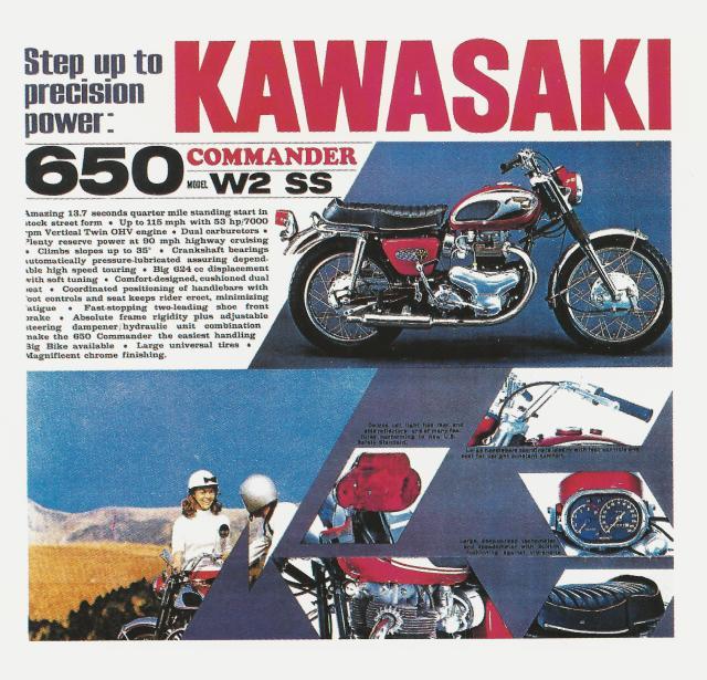 Kawasaki W2 Advertisement