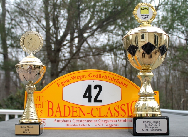 Trophies From Baden Classic