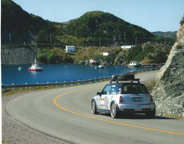 Mini At Targa Newfoundland 2003 (1)