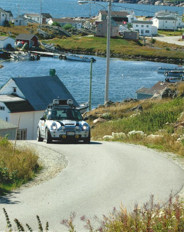 Mini At Targa Newfoundland 2003 (2)