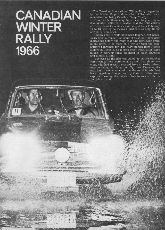 Canadian Winter Rally 1966 (1)