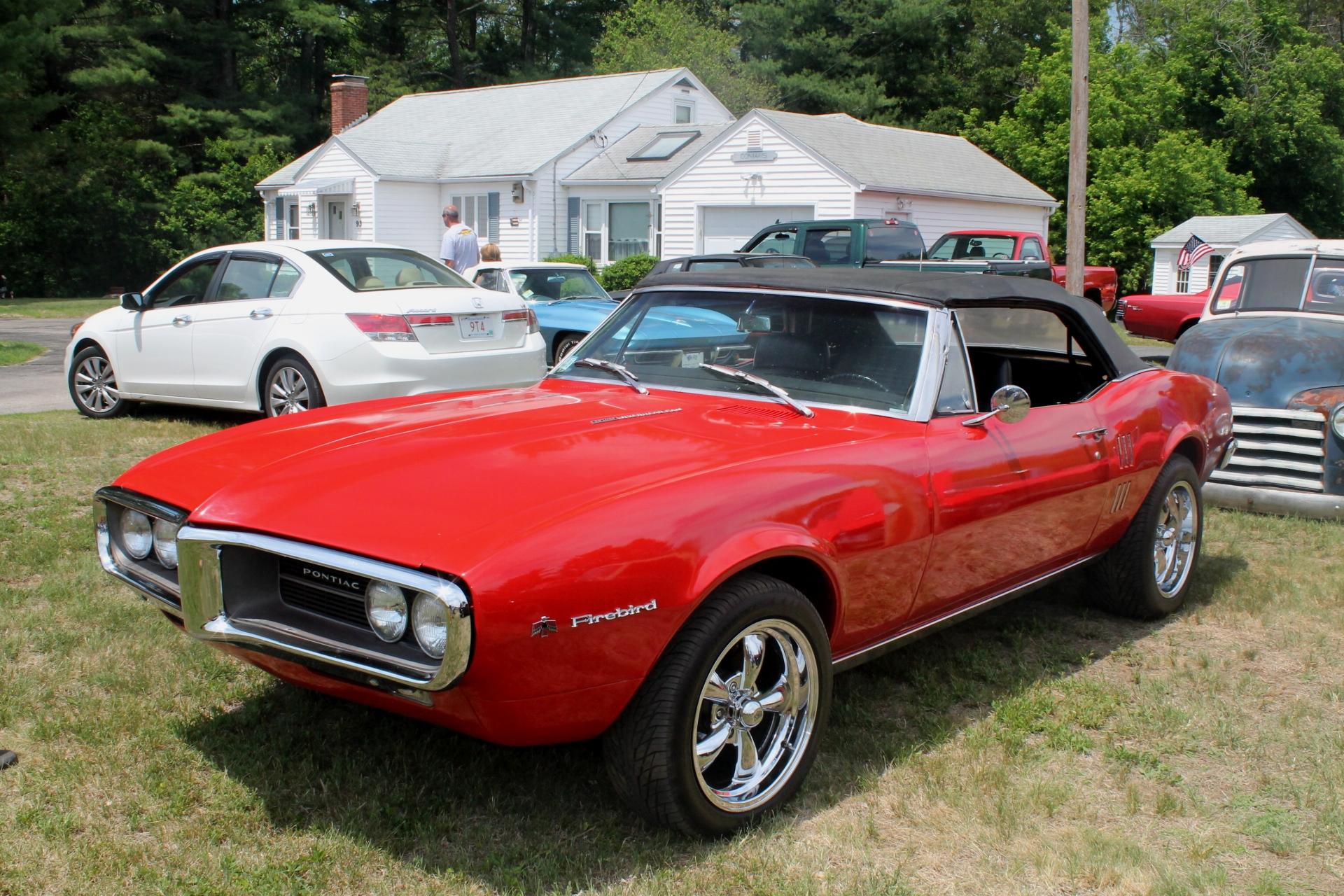 1967 Pontiac Firebird: Pontiac Enters The Pony Car Market |