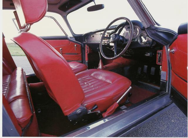 Aston Martin DB4 Interior