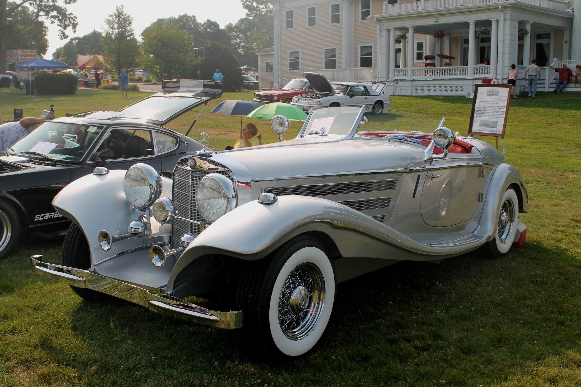 2015 Bay State Antique Auto Club Show In Dedham, Massachusetts |