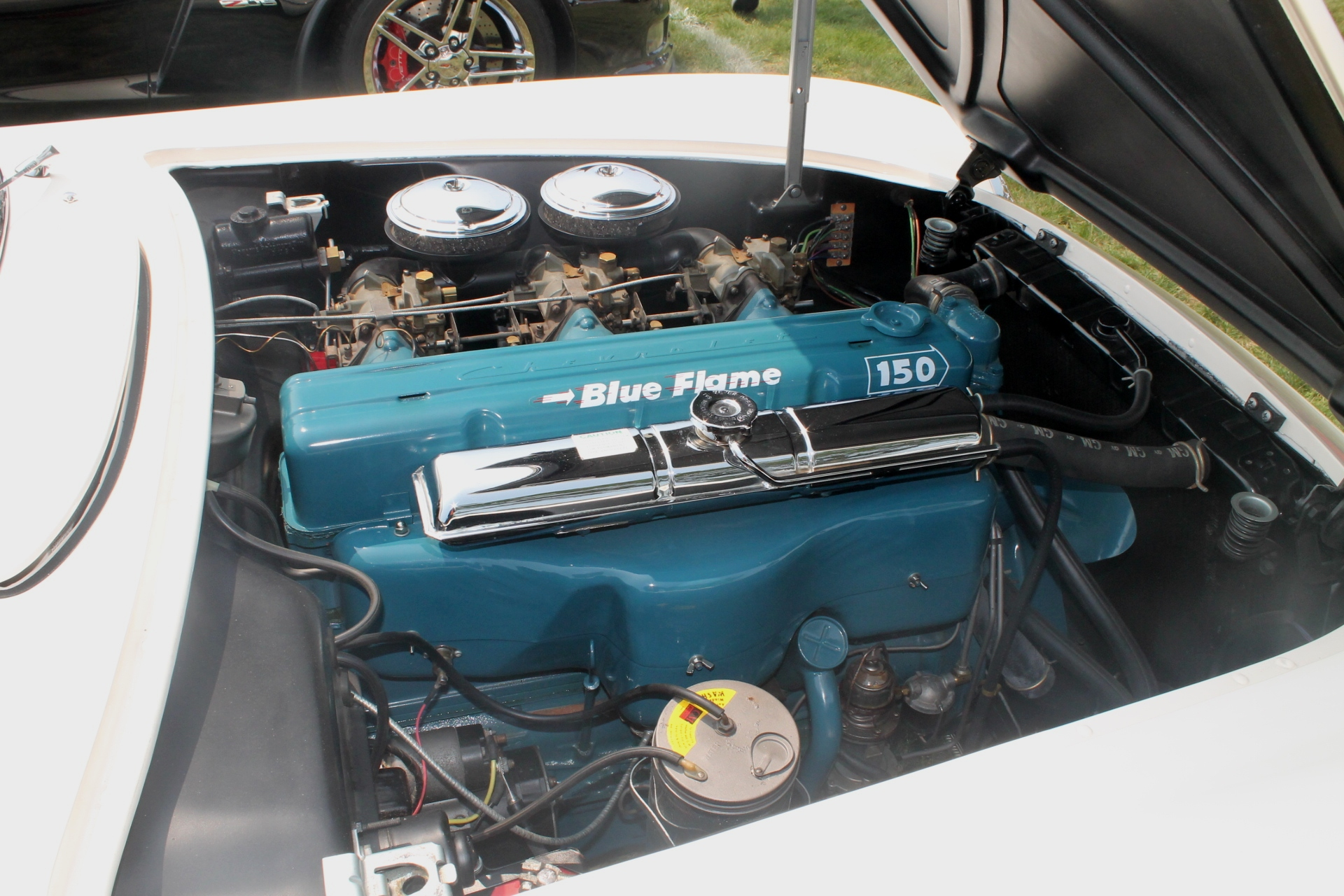 Chevrolet Blue Engine Paint