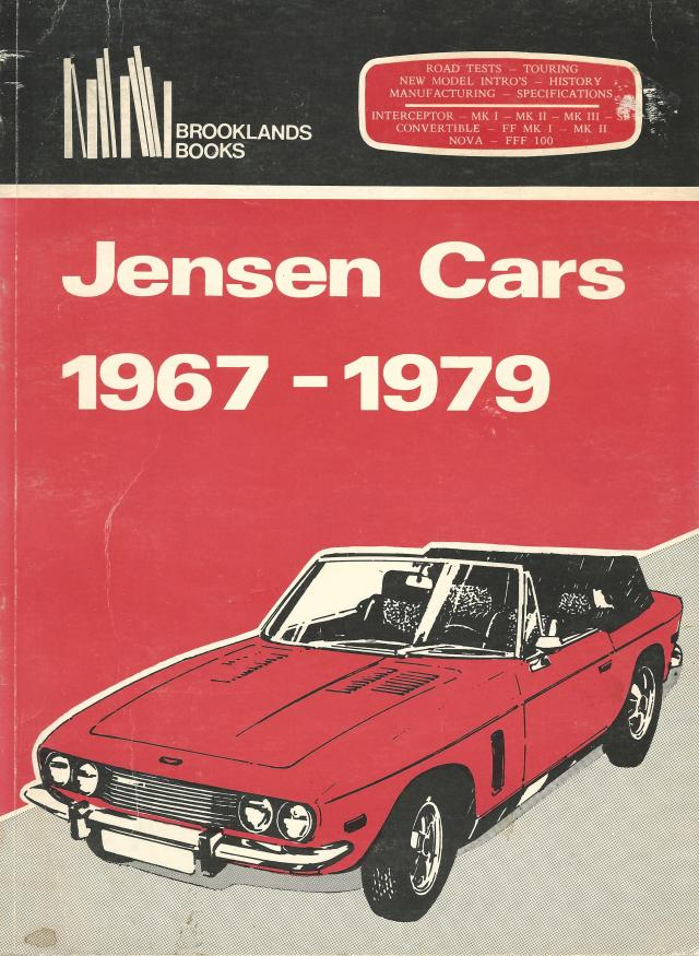 Jensen Cars Book Cover