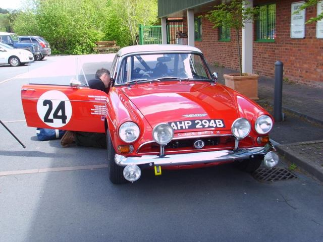Sunbeam Tiger Rally (1)