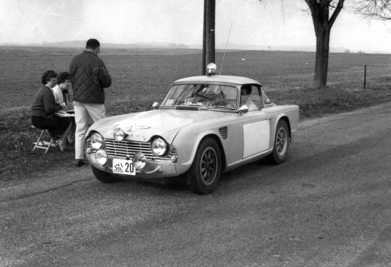 Some Other Triumph Tr4 Rally Car Photos