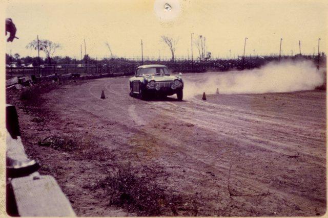 Bill Bailey's Dark Blue 3VC in 1964 autocross