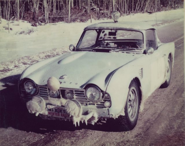 Dick Zwitzer rus 5VC in 1965 Canadian Winter Rallye121