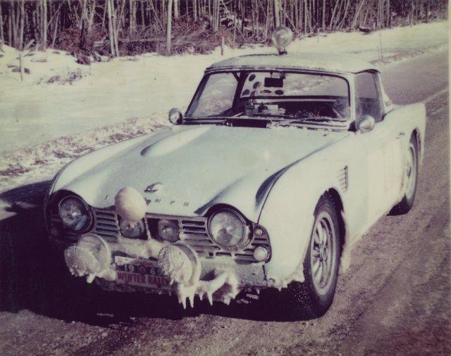 Dick Zwitzer rus 5VC in 1965 Canadian Winter Rallye121